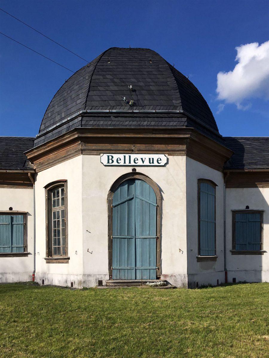 Ausflug: Landschaftspark Ebersdorf - Thüringen - nahe der Bleilochtalsperre - Schloss Bellevue