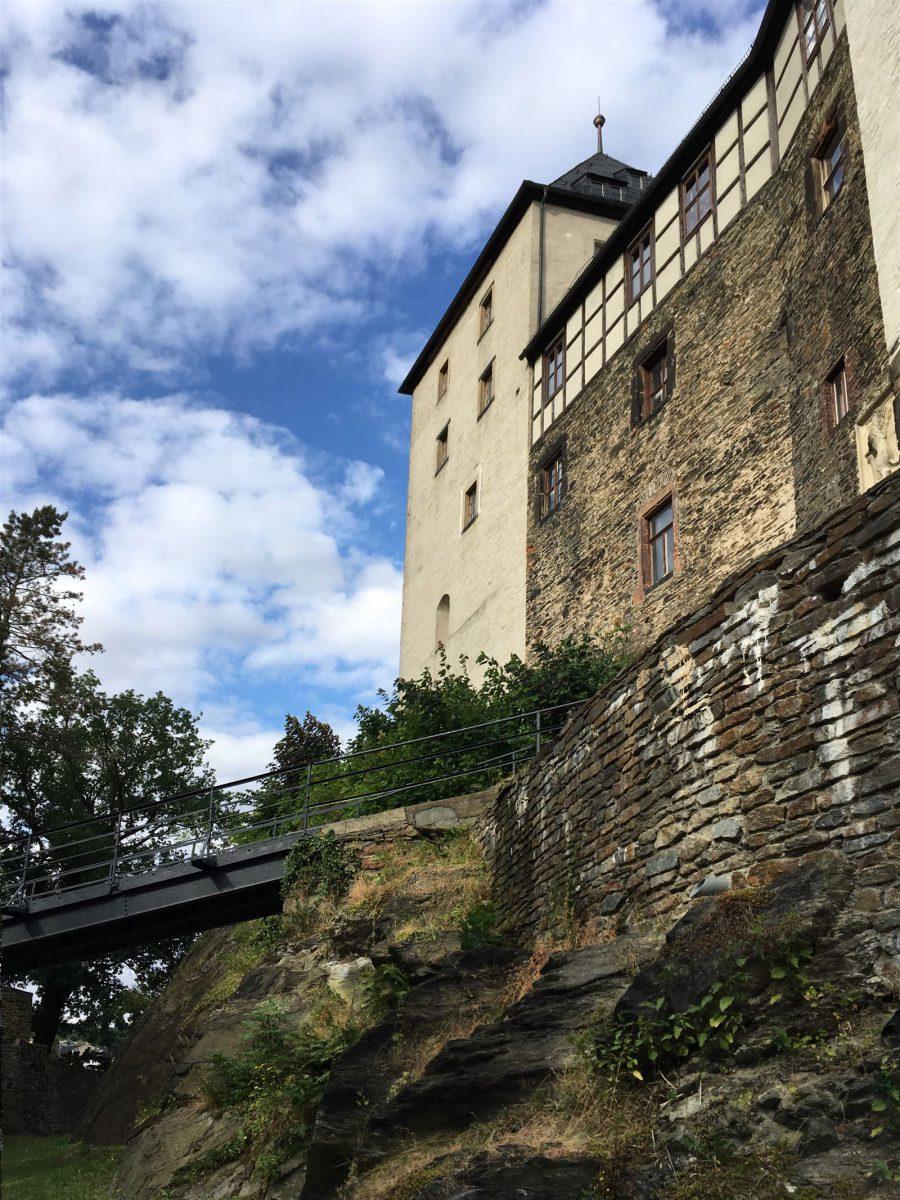 Die Burg Mylau ist auch Teil des Kulturwegs der Vögte