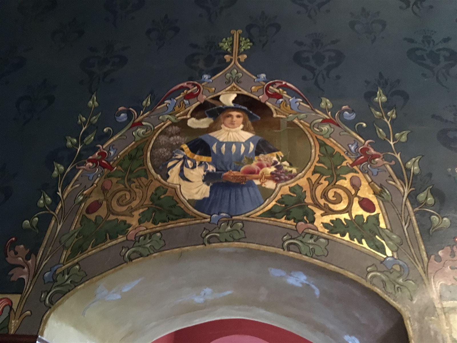 Das Metzschzimmer der Burg Mylau
