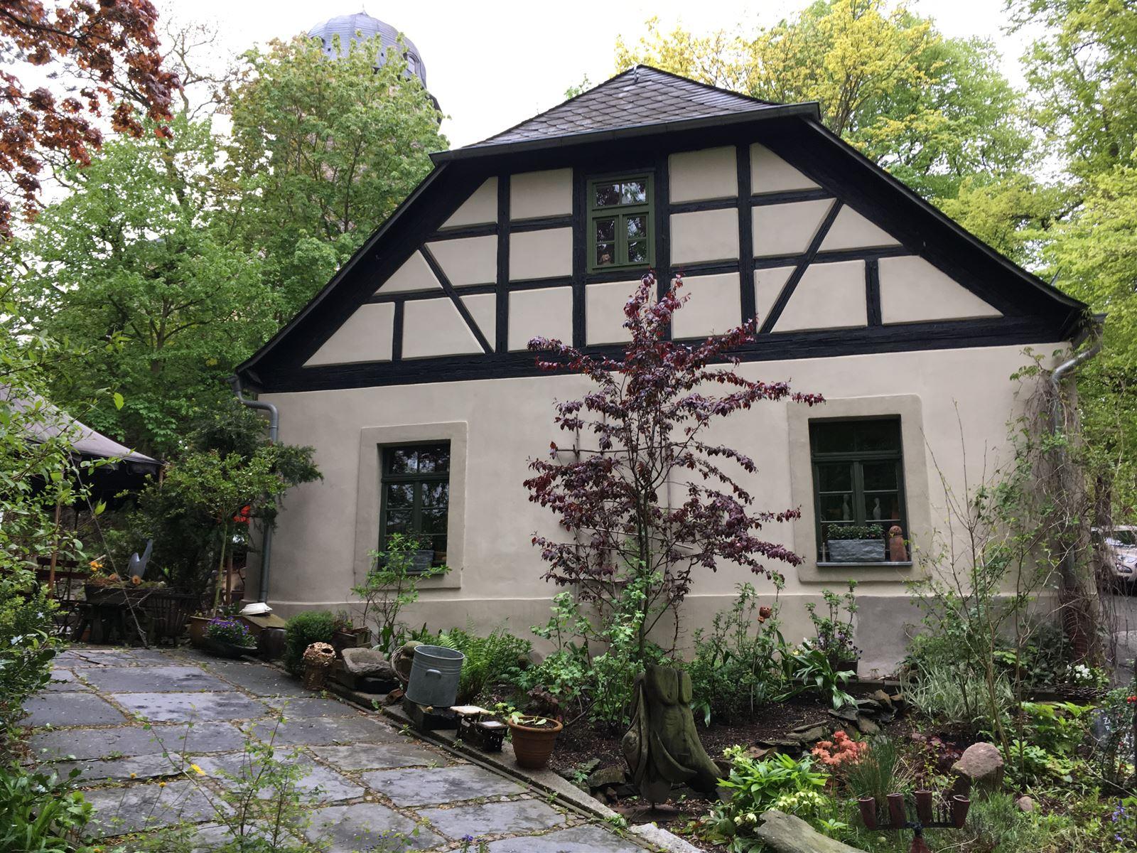Das Gärtnerhaus in Mylau beherbergt eine Ferienwohnung