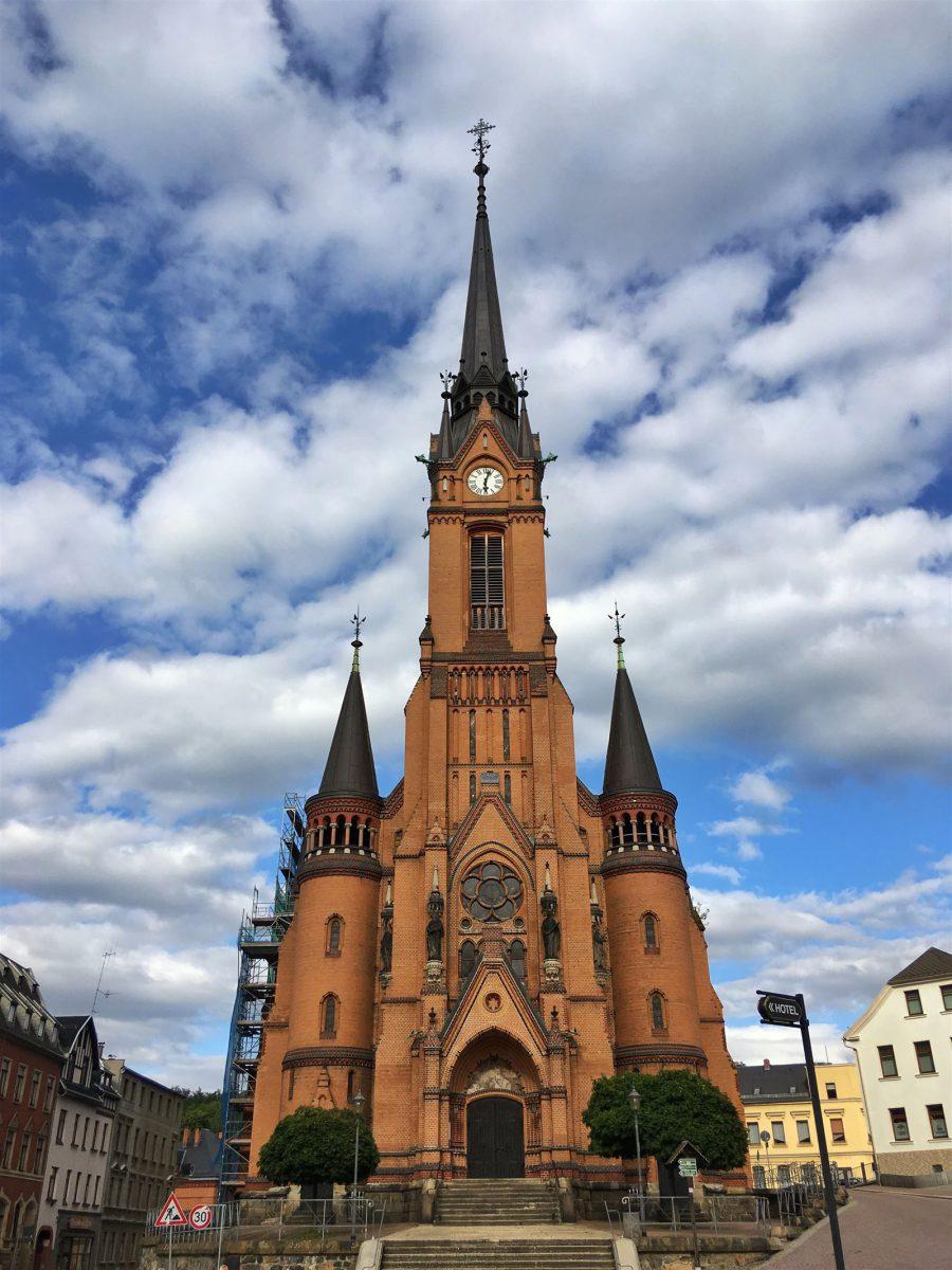 Die Stadtkirche St. Wenzel in Mylau