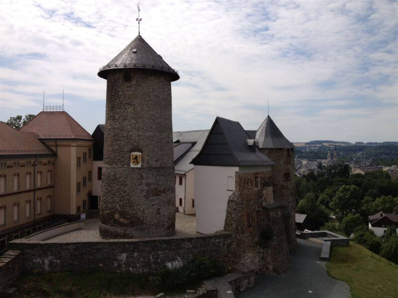 Schloss Voigtsberg in Oelsnitz