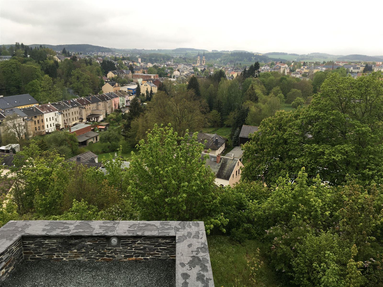 Museum Schloss Voigstberg in Oelsnitz - Aussichtsplattform