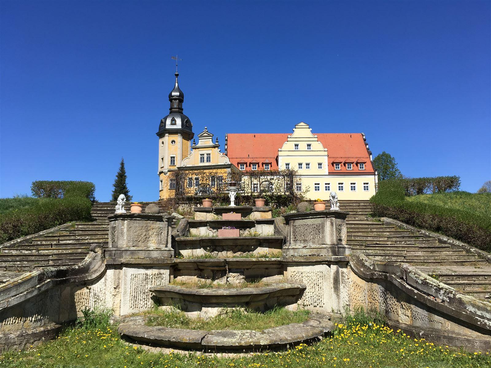 Schloss Thallwitz im Muldental bei Leipzig
