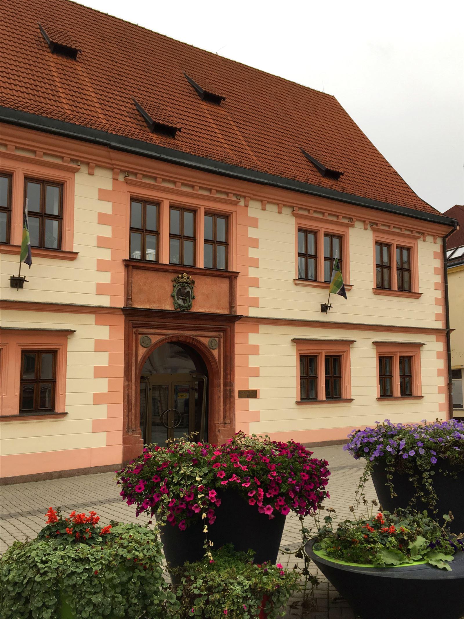 Das alte Rathaus von Sokolov