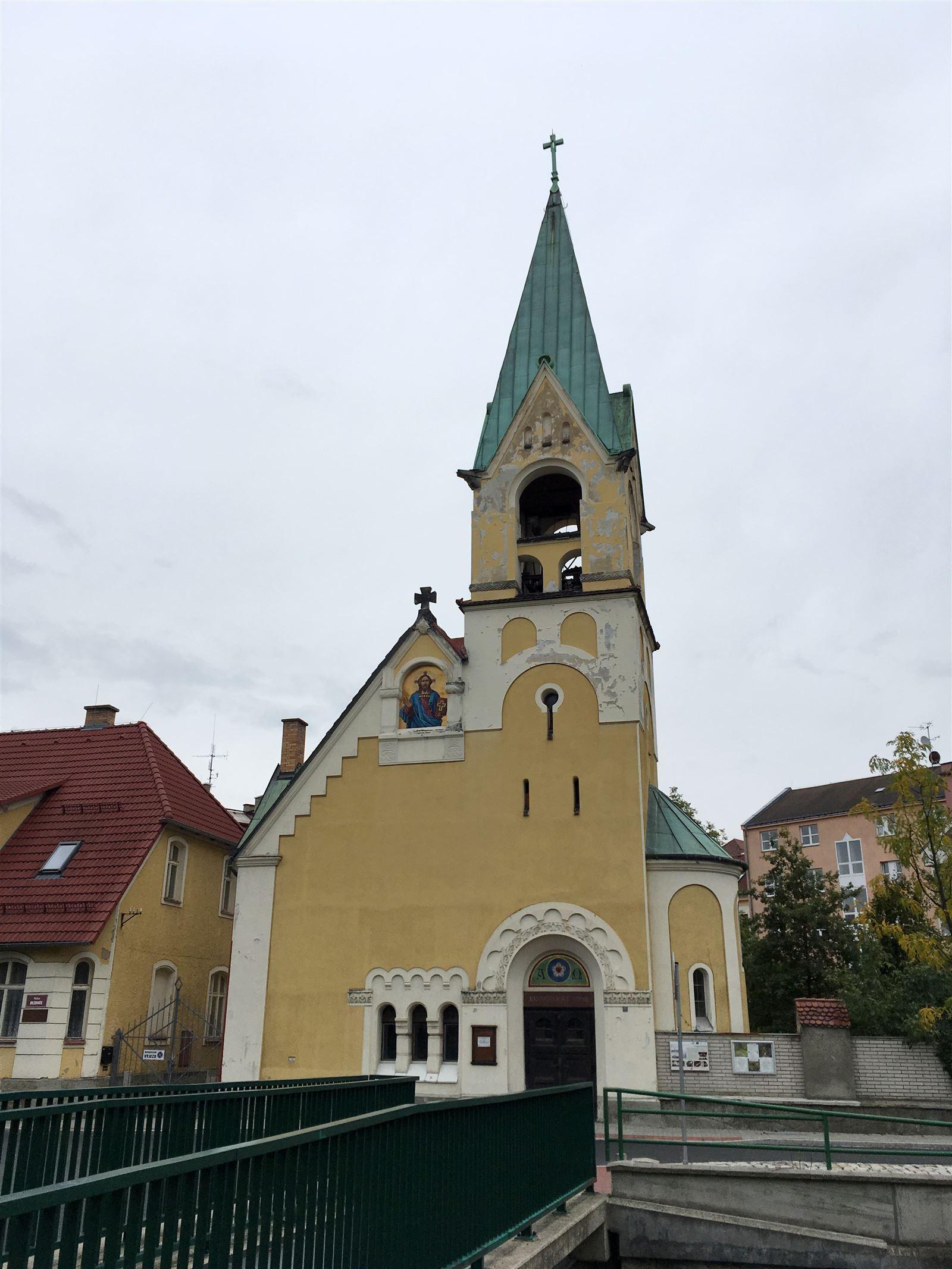 die evangelische-lutherische  Kirche in Sokolov  aus dem Jahr 1904