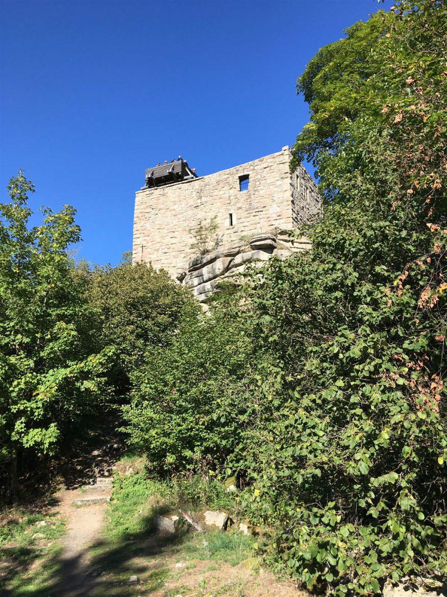 Blick zur Burg Epprechtstein