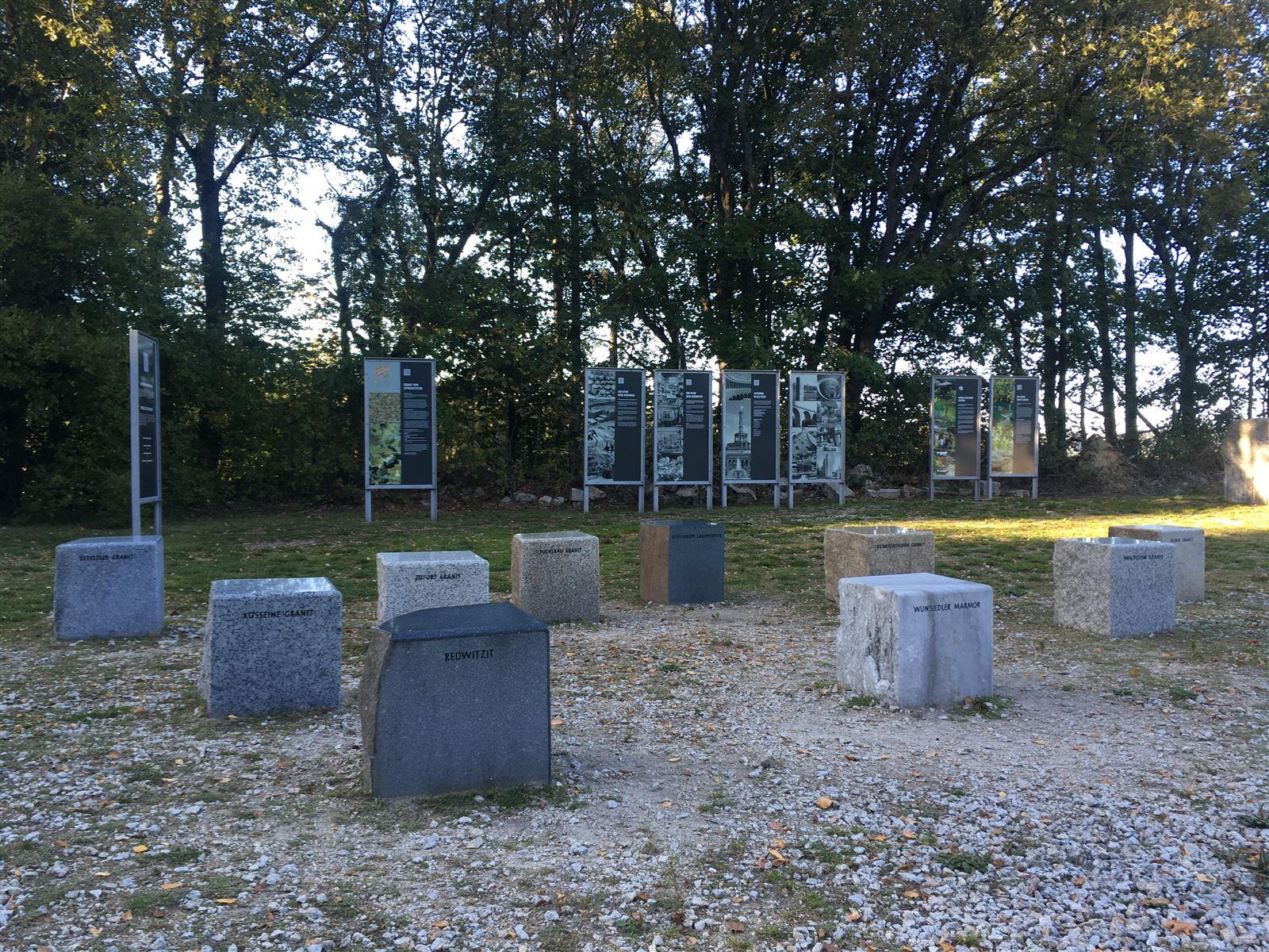 Am Granitlabyrinth