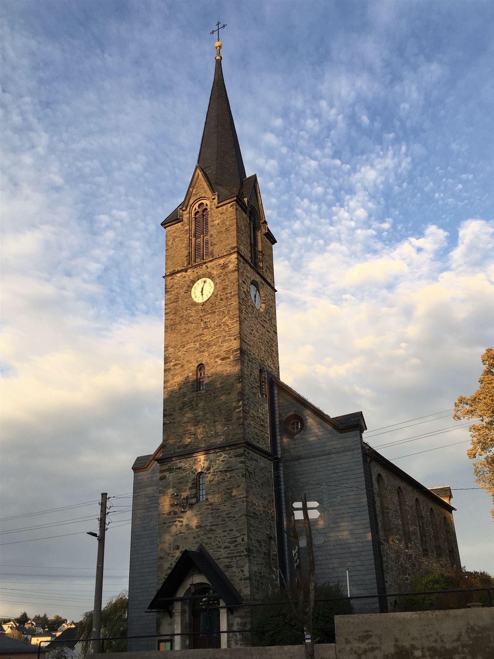 Die Kirche von Blankenberg
