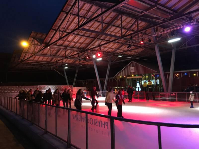 Eislaufen in Oelsnitz im Vogtland