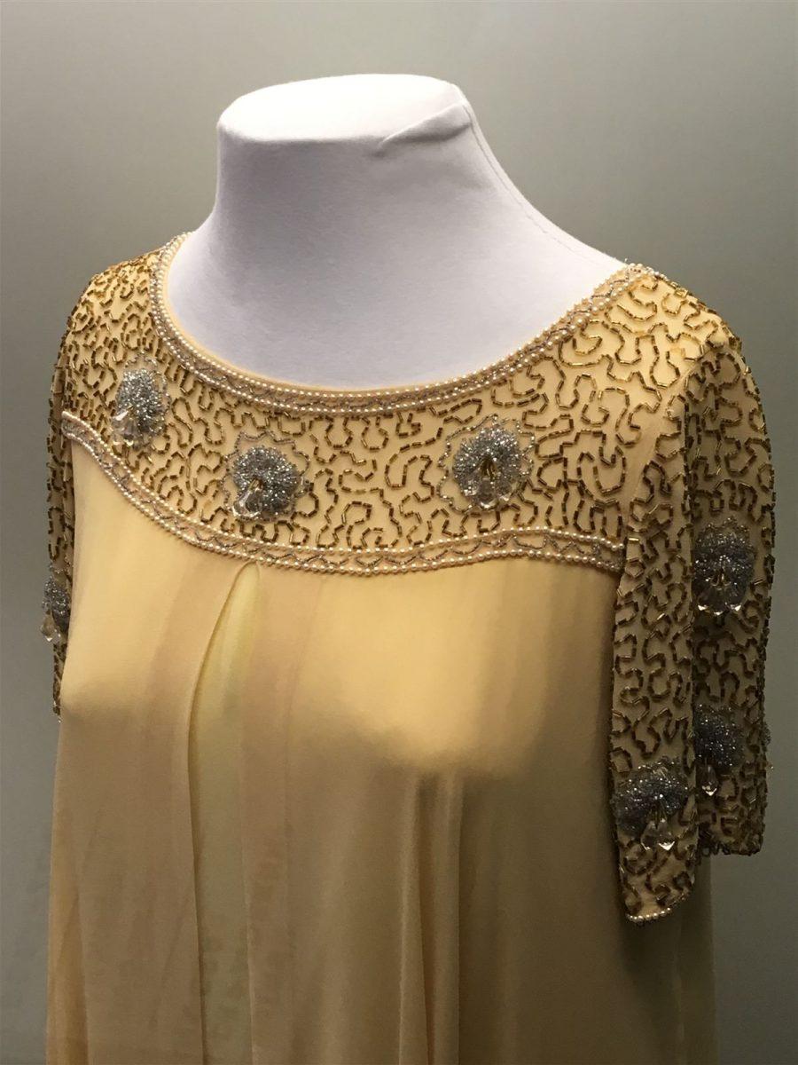 Mode 20er Jahre Perlenstickerei