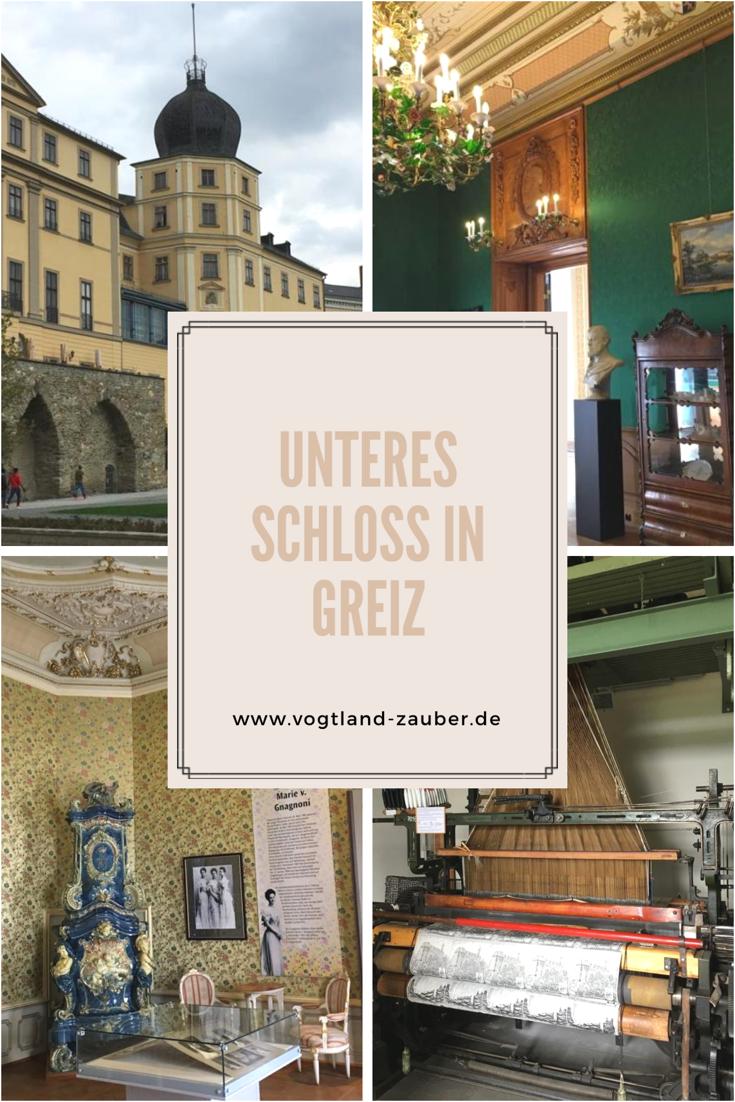 Das Untere Schloss in Greiz - Burgen und Schlösser im Vogtland